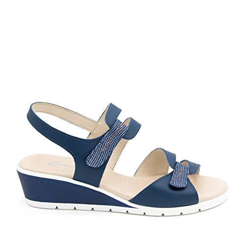 Castellanisimos WoMen Fashion Sandals Blue