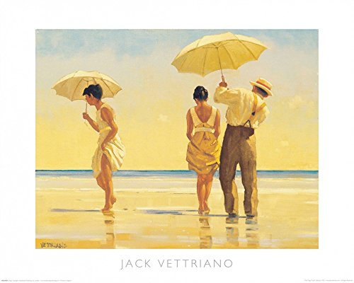 Affiche: Jack Vettriano 'Mad Dogs' 50 x 40