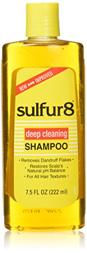 Sulfur 8 Deep Cleaning Shampoo for Dandruff, 7.5 Ounce Deep Cleaning Hair Shampoo