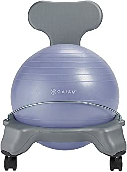 Gaiam Kids' Classic Balance Ball Chair