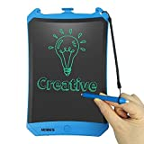 LCD Writing Tablet 8.5 Inch,NOBES Robot Drawing Board Magnetic Note Electronic Writing Doodle