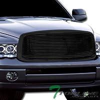 Topline Autopart Black Horizontal Billet Front Hood...