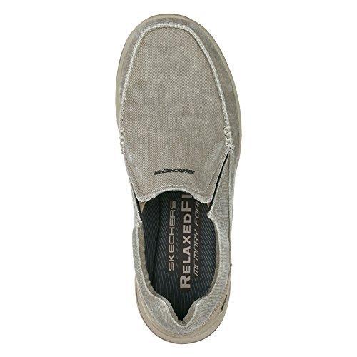 Skechers Khaki Men's Loafer Avillo Style Expected Driving rdr8qxYT