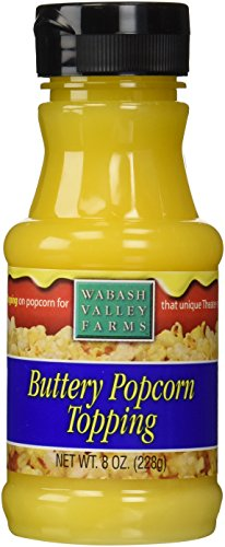 Popcorn Butter Topping - Buttery Flavor 8oz by Wabash Valley Farms (Buttery Popcorn compare prices)