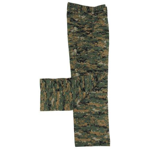pantalon US ACU, Rip Stop, Couleur:digital woodland;Taille:M