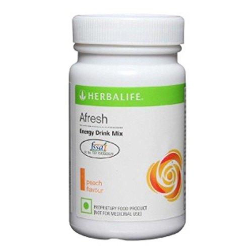 Herbalife Afresh Energy Drink Peach Flavor