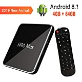2019 Newest 4G 64GB Android 8.1 TV Box, QPLOVE H96Max X2 4K Smart