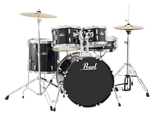 pearl-roadshow-rs505c-c31-5-piece-drum-set-jet-black