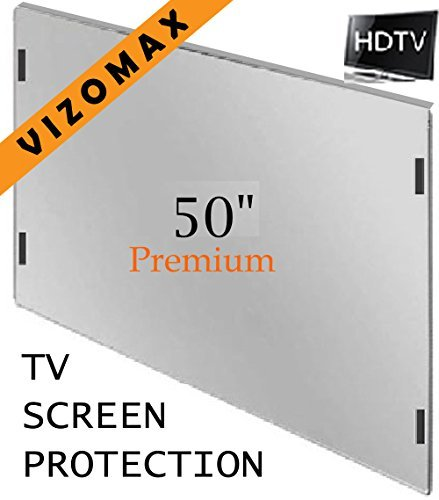 Screen Hdtv (49 - 50 inch Vizomax TV Screen Protector for LCD, LED & Plasma HDTV)