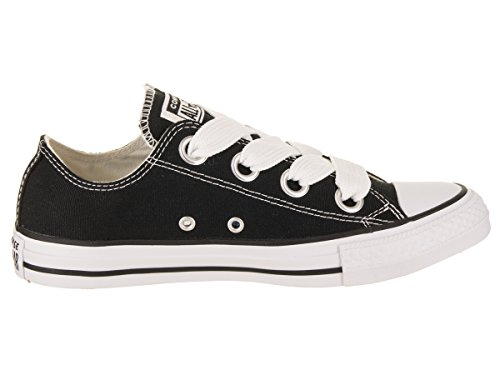 Chuck white Ctas 001 Ox Sneakers Eyelets natural Converse Femme Noir Big Basses black Taylor qC7Wd6