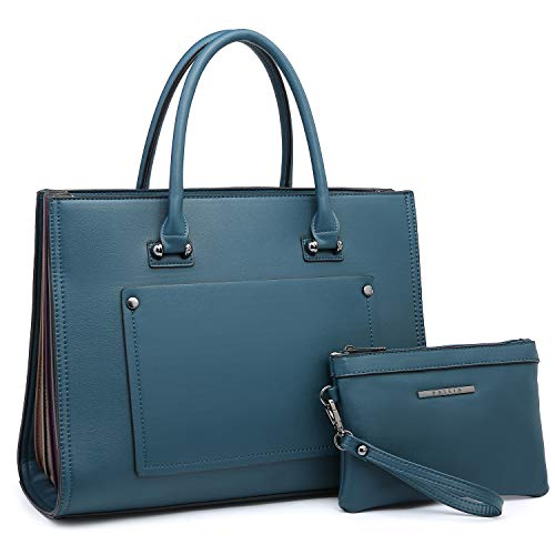 Purple Satchel Handbag - 5