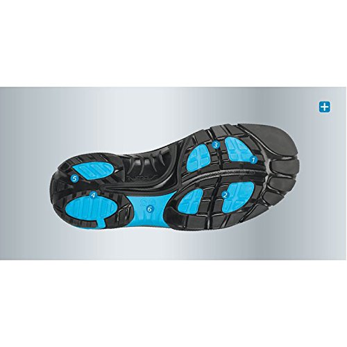 Abeba Crawler zapatos/blanco gris S1 Blanco - blanco