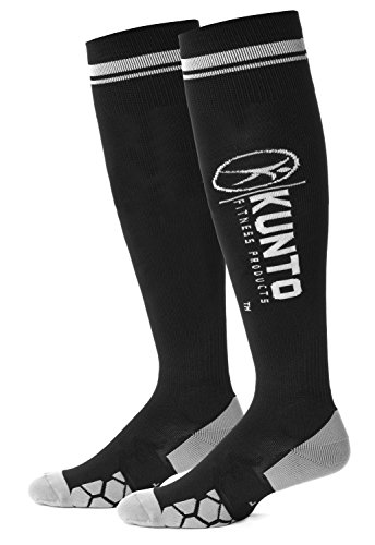 graduated-compression-socks-by-kunto-fitness-reduce-leg-pain-the-appearance-of-varicose-veins-increa