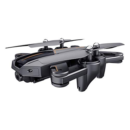 MOZATE VISUO XS812 GPS 5G WiFi FPV 5MP 1080P Wide Angle HD Camera Foldable RC Quadcopter Drone + Two Battery (Black, B) by MOZATE (Image #8)