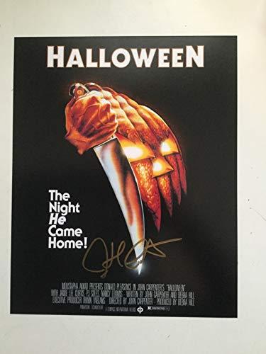 (Halloween movie Rare John Carpenter Signed Photo with Fanexpo)