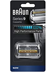Braun Series 9 92M Electric Shaver Head Replacement - Silver - Compatible with Series 9