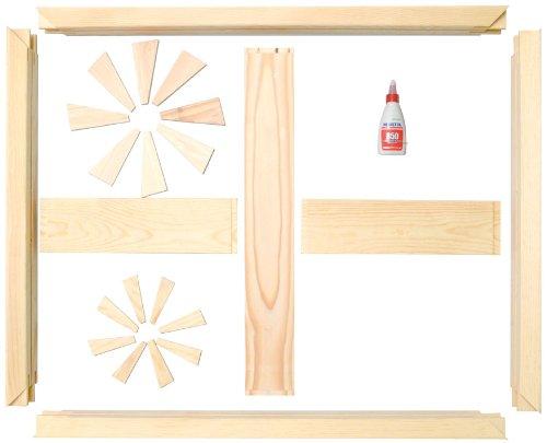 Masterpiece K2 Custom Canvas Stretcher Frame Kit, 96-Inch-by-96-Inch by Masterpiece Artist Canvas (Image #1)