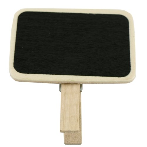Wrapables Mini Chalkboard Wooden Clip