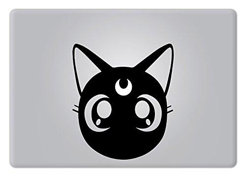 Luna Sailor Moon Apple Macbook Decal Vinyl Sticker Apple Mac