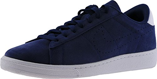 NIKE Herren Tennis Classic Leder Fashion Sneaker Midnight Navy / Midnight Navy-weiß