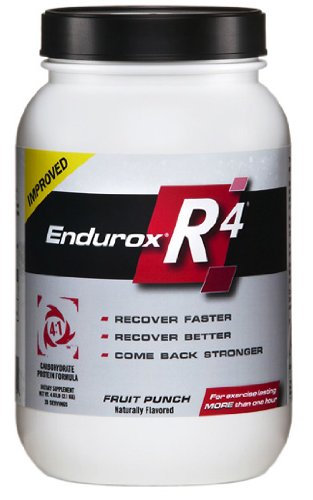 Endurox Pacifichealth Labs R4 Performance Recovery Drink, Fruit Punch, 4.63 Pound