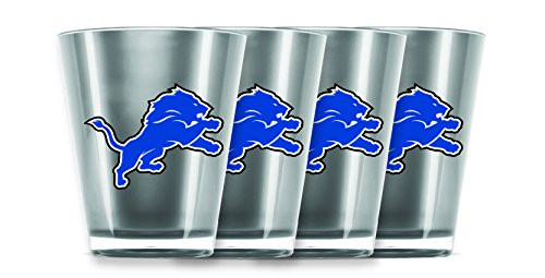 NFL Detroit Lions Insulated Acrylic Shot Glass Set of 4