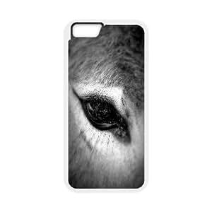 Custom Donkey Iphone6 Plus Phone Case, Donkey DIY Cell Phone Case for iPhone 6 plus 5.5