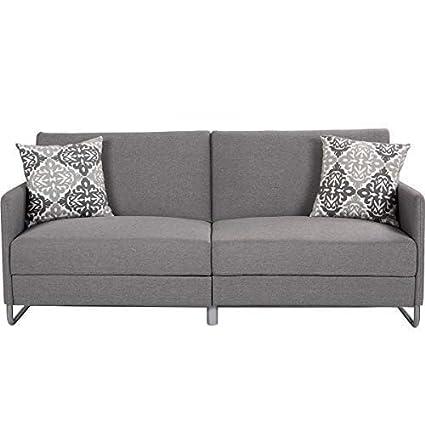 Amazon.com: Giantex Futon Sofa Bed with Backrest & Armrest ...