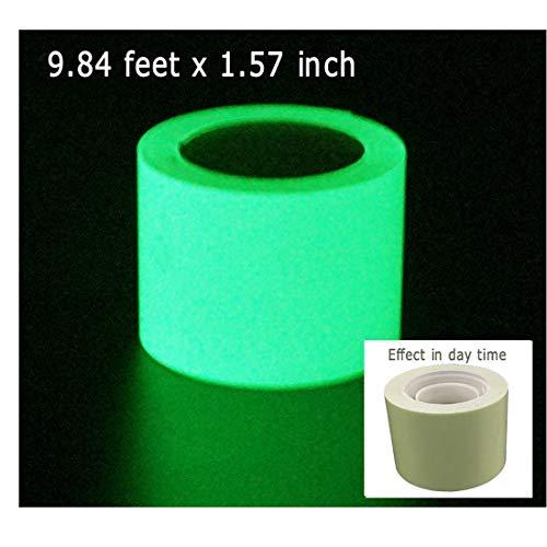 DuoFire Luminous Tape Sticker,9.84' Length x 1.57
