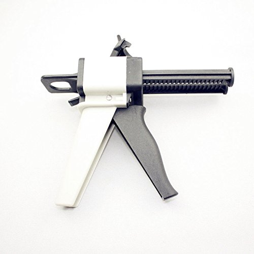 Dental Impression Mixing Dispenser Gun 1:1 - 2:1 Ratio for VPS and Bite Registration Cartridges and other Impression Materials