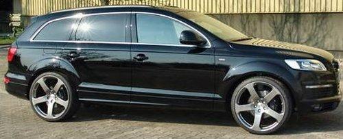 22 inch Silver VW wheels rims for Volkswagen Touareg (VKW-150-22-SLV) - Buy Online in UAE ...