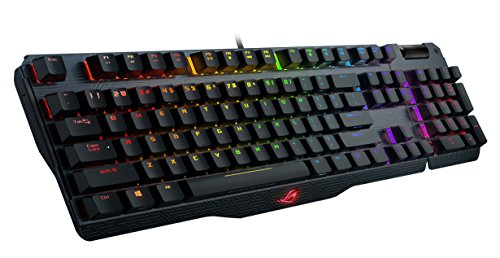 ASUS RGB Mechanical Gaming Keyboard - MA01 ROG Claymore | Cherry MX Brown Switches | Dedicated Hot Keys for One-click…