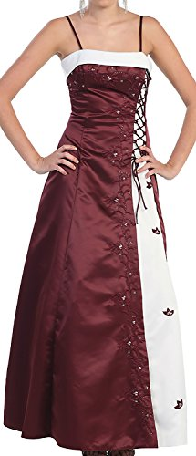 Brautmutterkleid lang Linie Hochzeitsgast A Gold Brautjungfernkleid Festkleid Ballkleid Abendkleid ZqBYw