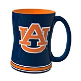 NCAA Auburn Tigers Sculpted Relief Mug, 14-Ounce