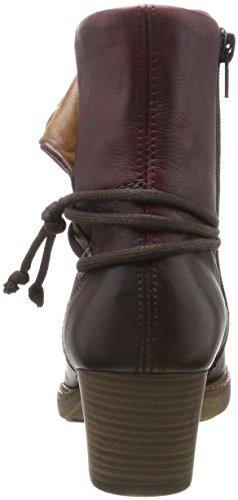 D8172 Rosso Stivali Remonte chianti Western chestnut Donna dfxIq