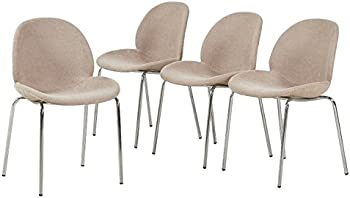 Set of 4 GreenForest Dining Side Chairs