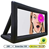 20ft Inflatable Movie Screen,Home Movie Screen,Portable,Detachable