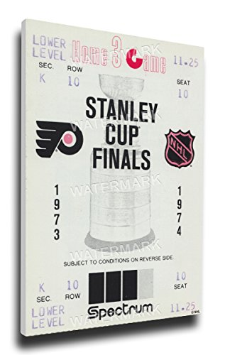 NHL Philadelphia Flyers 1974 Stanley Cup Mega Ticket