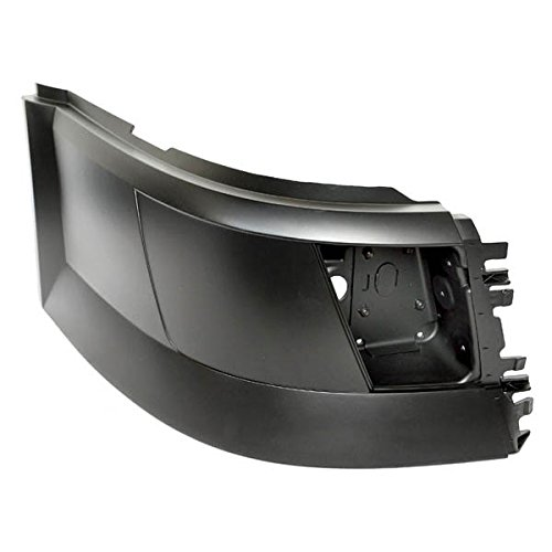 Volvo VNL Truck Passenger Side Extension Corner with Fog Light Hole Side Bumper