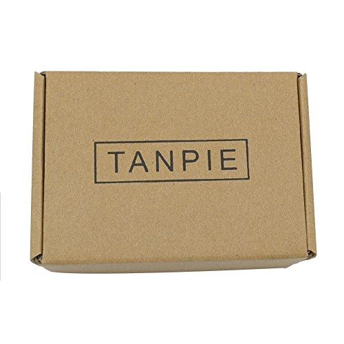 Tanpie Western Leather Belt for Women Boho Waist Belt with Designer Metal Double Buckle Yellow Brown L by Tanpie (Image #6)