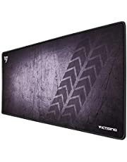 Extended Gaming Mouse Pad, VicTsing Large Size Mouse and Keyboard Mat for Gaming and Working - Grey, 80x40cm (31.5x15.75in)