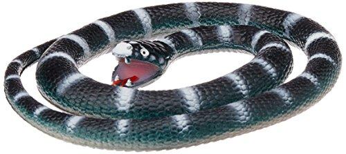 Wild Republic Rubber Snake California King, Black  46 inch