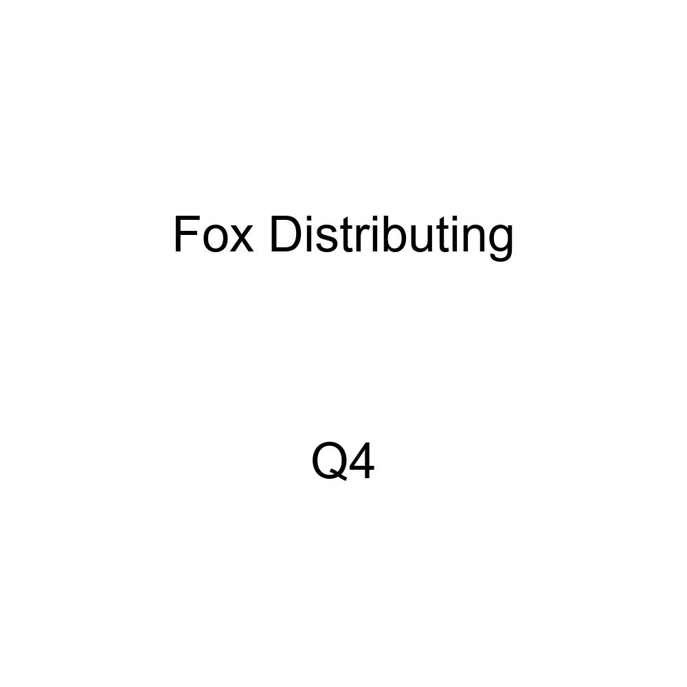 Fox Distributing Q-4 Series 166 Mikuni Needle Jet