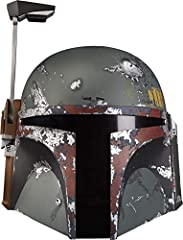 Commemorate Star Wars: the empire strikes back with the Black Series Boba Fett premium electronic helmet! This role-play item with premium Deco, realistic detail, and movie-inspired design is a great addition to any Star Wars fan's collection...