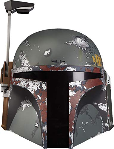 Star Wars The Black Series Boba Fett Premium Electronic Helmet, The Empire Strikes Back Full-Scale Roleplay Collectible from Star Wars