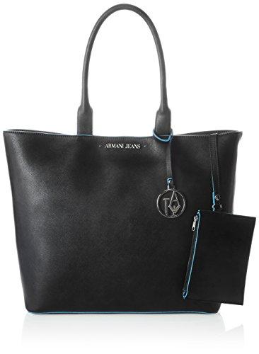 Nero Donna Shopper Borsa 922535cc856 Armani wqU1IH