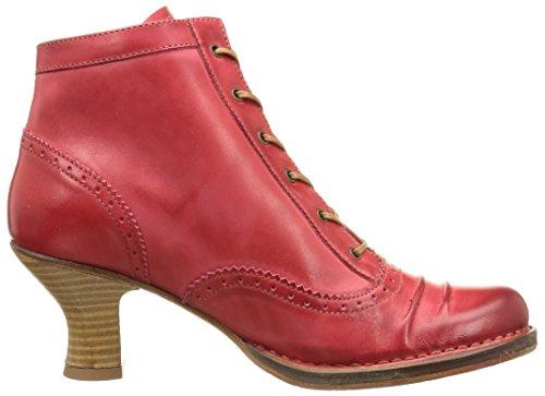 Neosens 848 Rococo - Botines, Mujer Rojo (Scarlet)