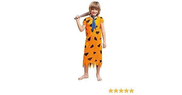 My Other Me Me-203253 Disfraz troglodita para niño, color naranja ...