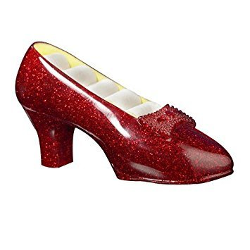 (The Wizard of Oz Ruby Slipper Musical Jewelry Holder by The San Francisco Music Box Company)