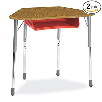 Amazon Com Virco Zhexboxm Student Desk With Black Open Front